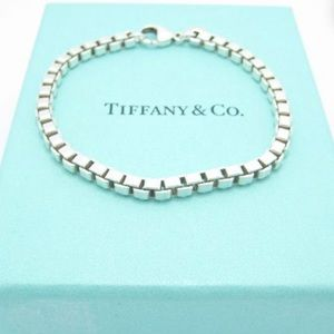 Tiffany&Co Sterling Silver Venetian Link Bracelet